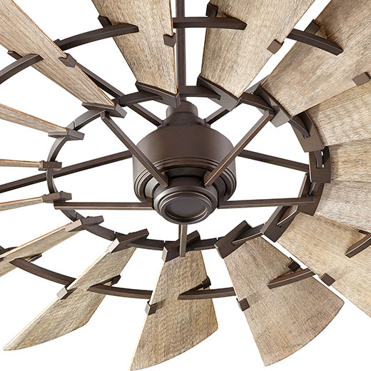 Barn size ceiling fan