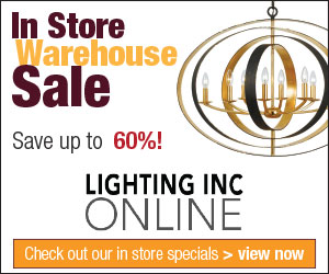 In Store Warehouse Sale – Save up to 60%!