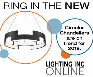 Ring in the New with a Circular LED Chandelier