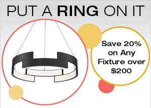 Put a Ring On It with a Circular LED Chandelier