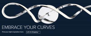 Embrace Your Curves and find your lighting inspiration